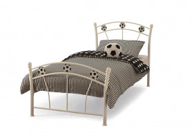SOCCER 80 CM WHITE SMALL SINGLE BED